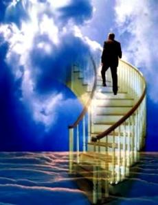 Subir as escadas de nossa vida é uma escolha nossa, e ninguém pode nos deter