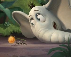 Cena de Horton e o mundo dos quem