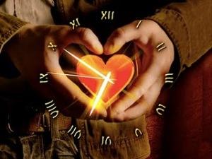 relogio do coração